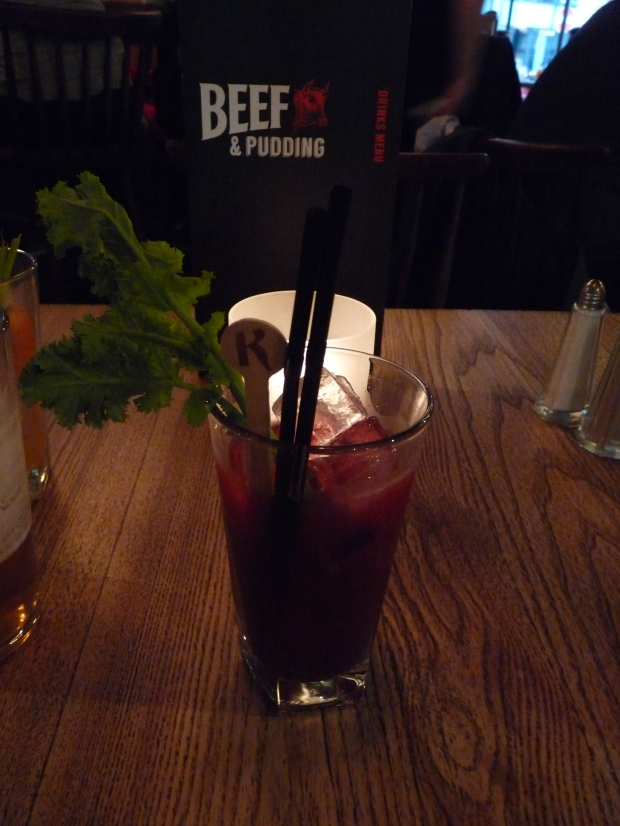 beetroot bloody mary