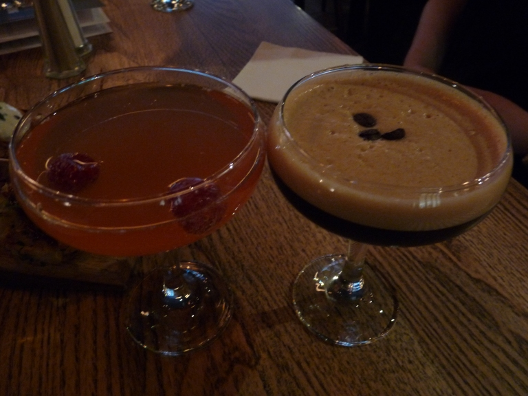 cocktails beef and pudding