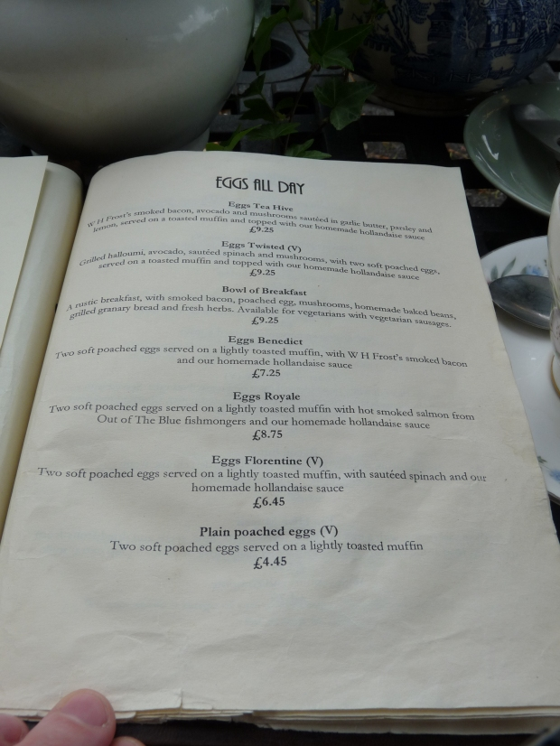 tea hive chorlton brunch