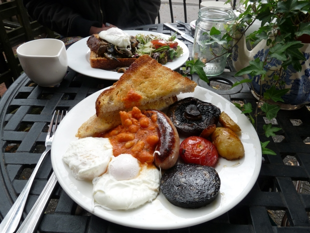 tea hive chorlton full english